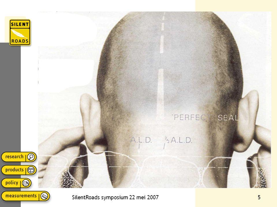 SilentRoads symposium 22 mei 200726 Aandachtspunten ontwerp
