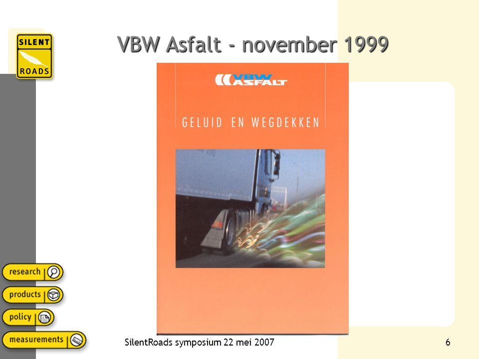 6 VBW Asfalt - november 1999