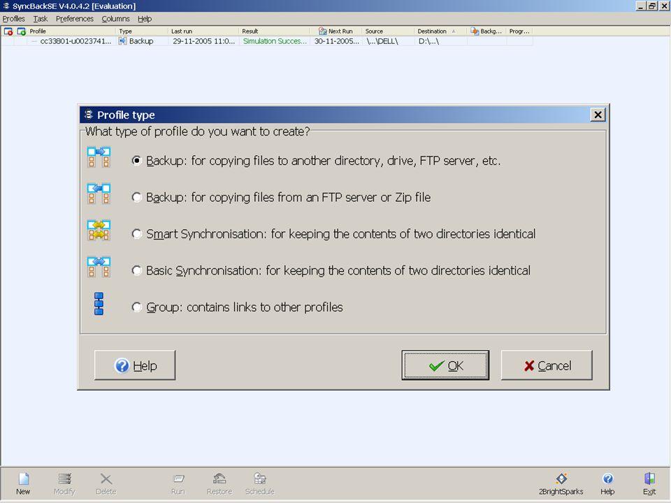 K. U. L E U V E N - L U D I T WimM 16/12/2005Storage&BU-01 Storage, BU-Server & BU-Client
