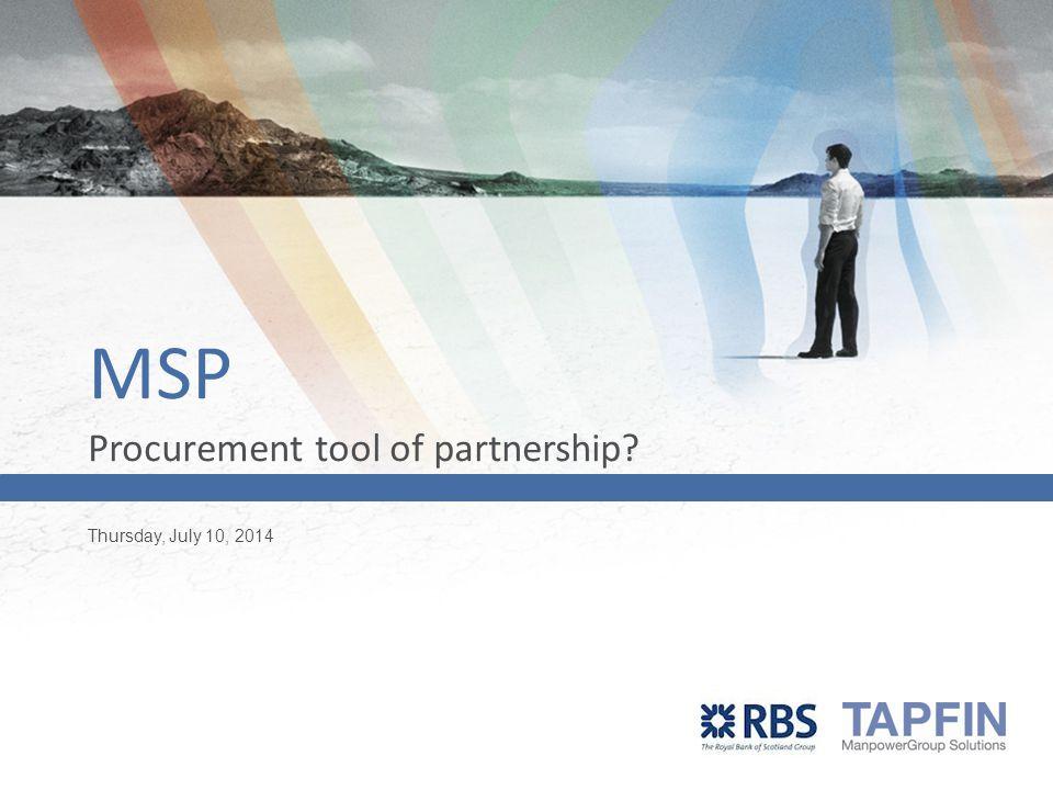 Wat is een MSP?
