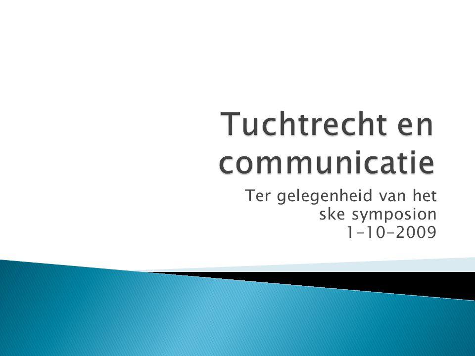 Ter gelegenheid van het ske symposion 1-10-2009
