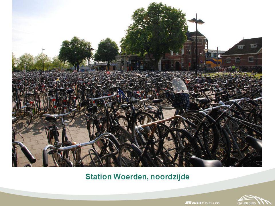 Station Woerden, noordzijde