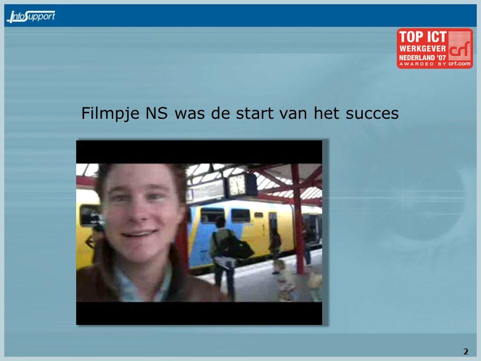 Filmpje NS was de start van het succes 2
