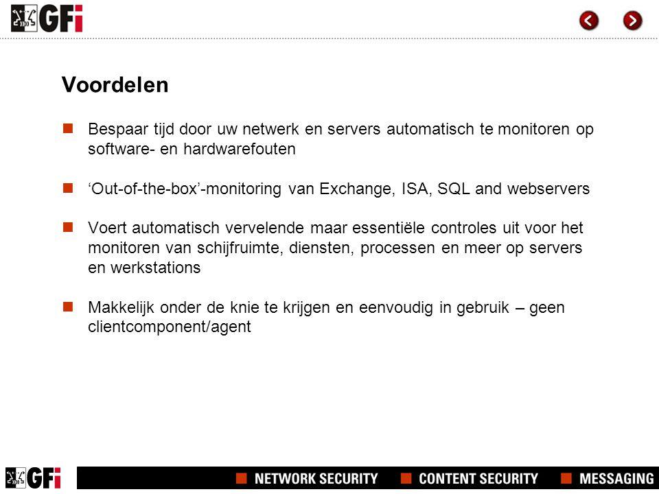 Hoe werkt GFI Network Server Monitor?