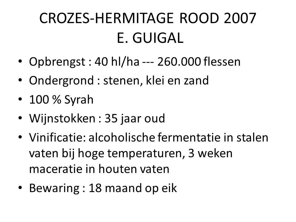 CROZES-HERMITAGE ROOD 2007 E.