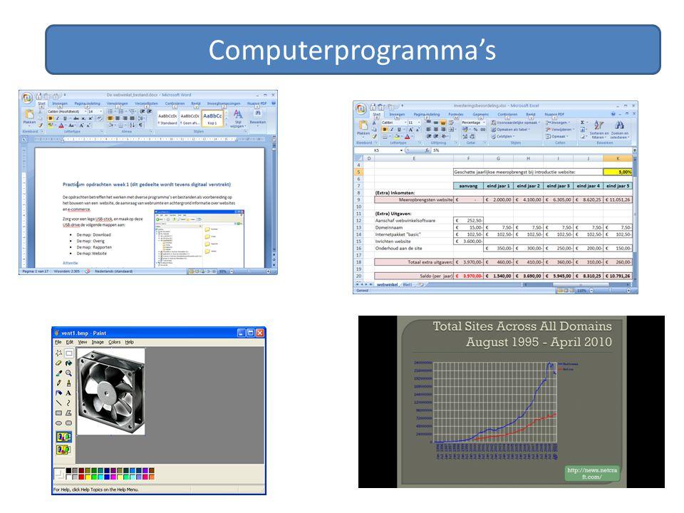 Computerprogramma's