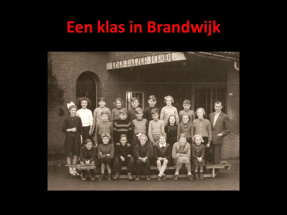 Een klas in Brandwijk