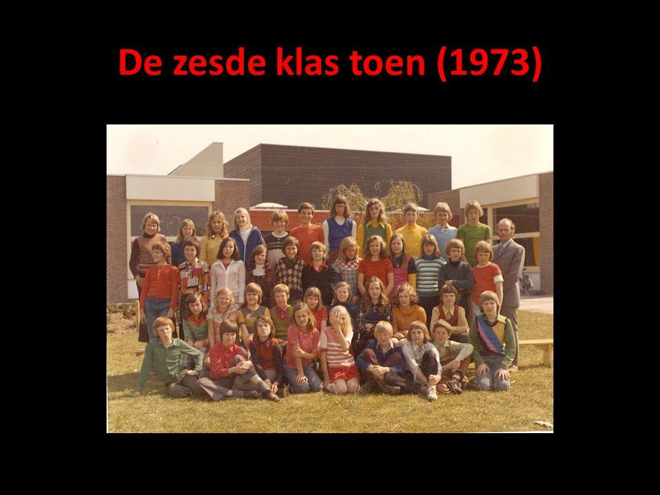 De zesde klas toen (1973)