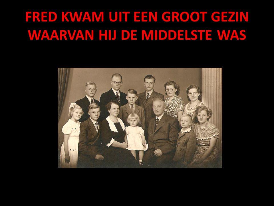 Van Brandwijk naar Andijk (N.H.) Daar werd Fred hoofd van de Idenburgschool Met de kinderen plus ouders en het overige personeel is het prettig toeven geweest.