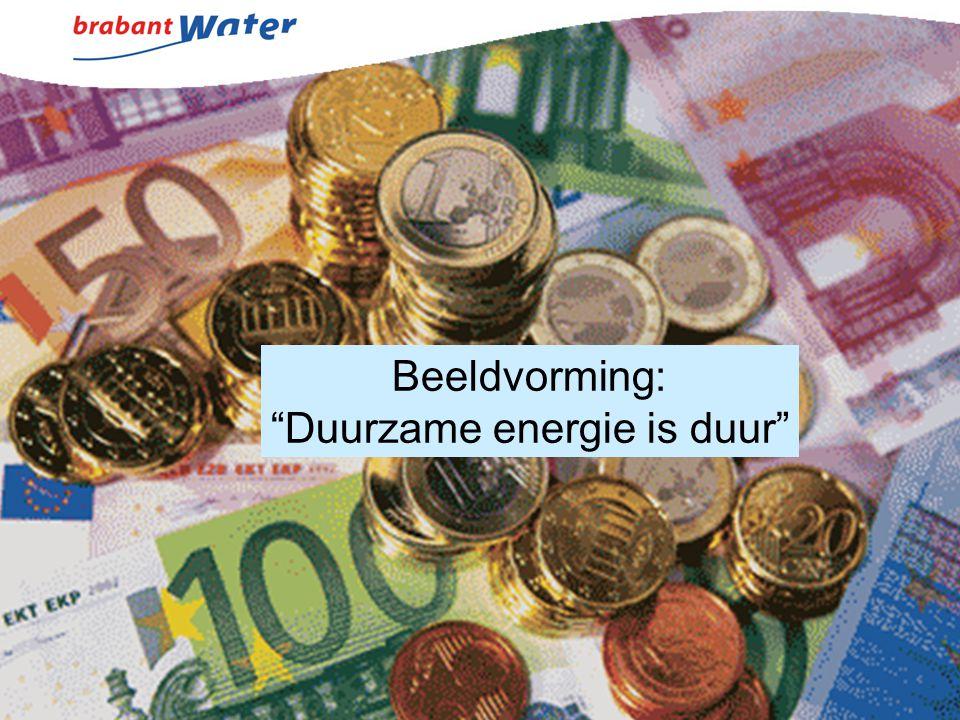"""Beeldvorming: """"Duurzame energie is duur"""""""