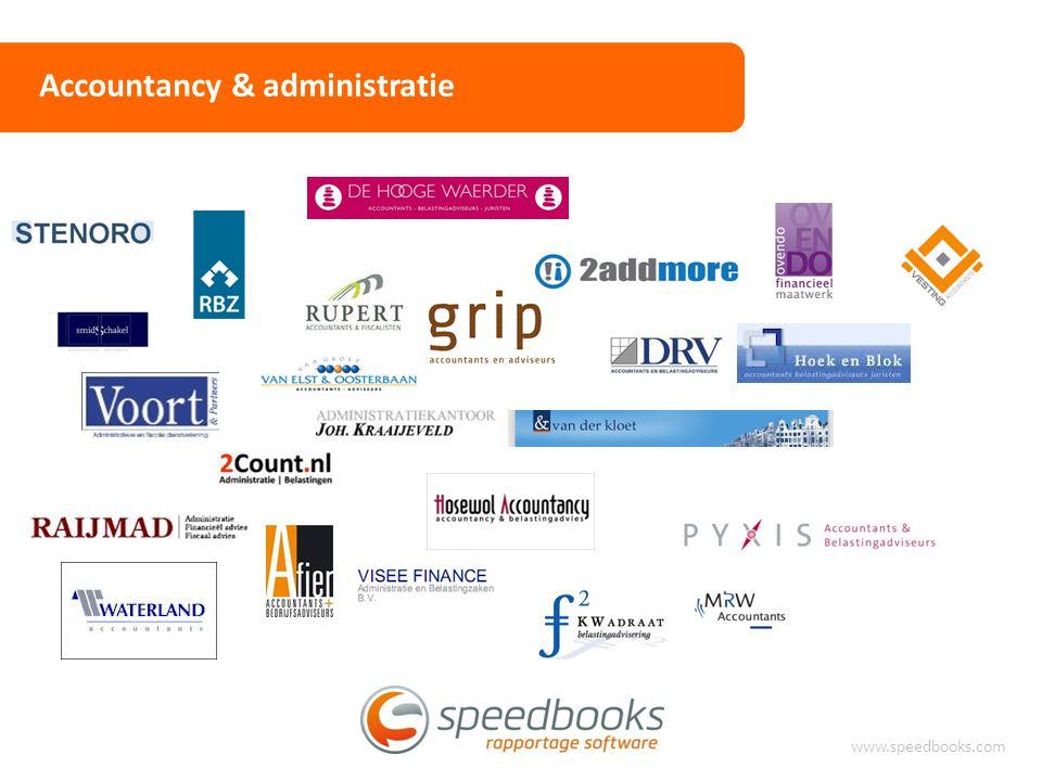 Accountancy & administratie www.speedbooks.com