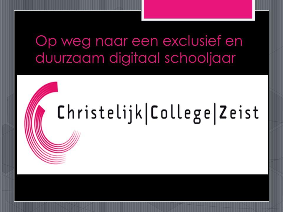 Op weg naar een exclusief en duurzaam digitaal schooljaar
