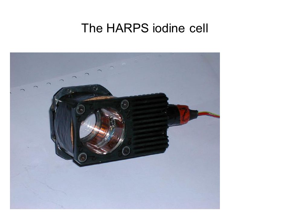 HOVO The HARPS iodine cell