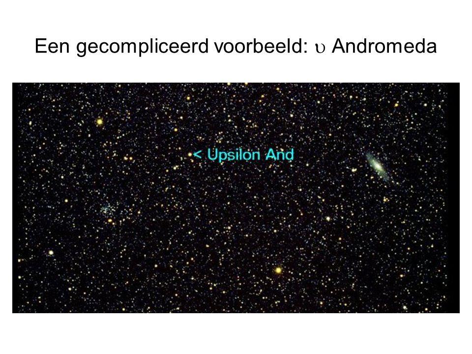 Een gecompliceerd voorbeeld:  Andromeda