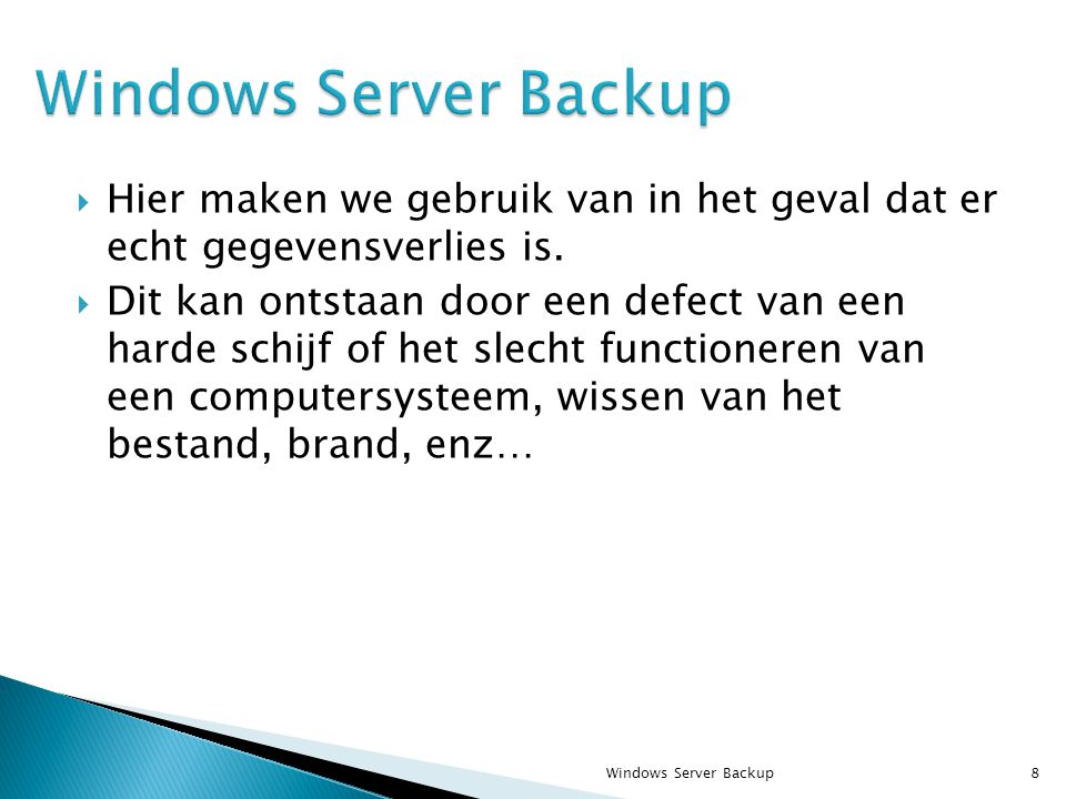  Selecteer Original location en Overwrite existing files with recovered files om dezelfde bestanden en mappen te overschrijven Windows Server Backup59