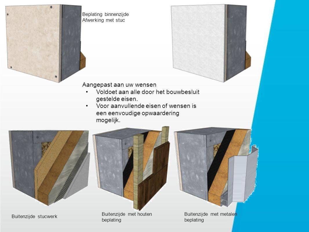 Principe detail Dakvloer met dakopstand
