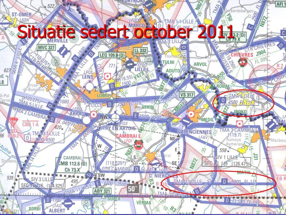Situatie sedert october 2011