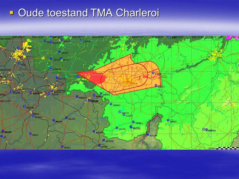  Nieuwe toestand TMA Charleroi