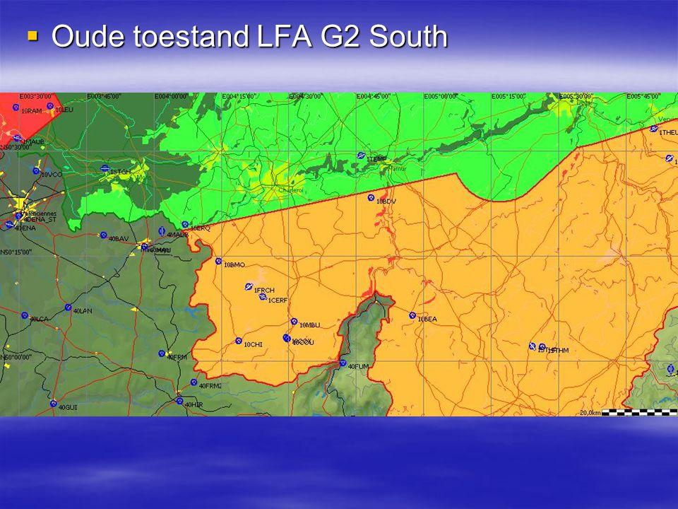  Nieuwe toestand LFA G2 South