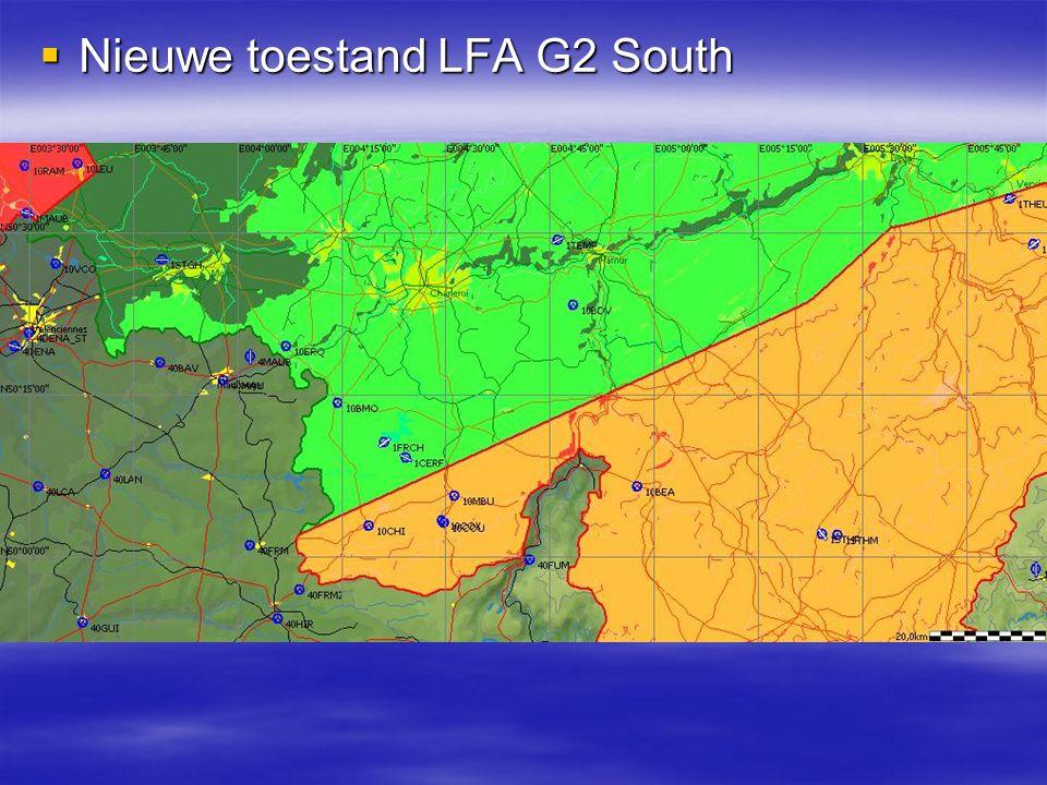 LFA G1 actief en LFA G2 niet actief