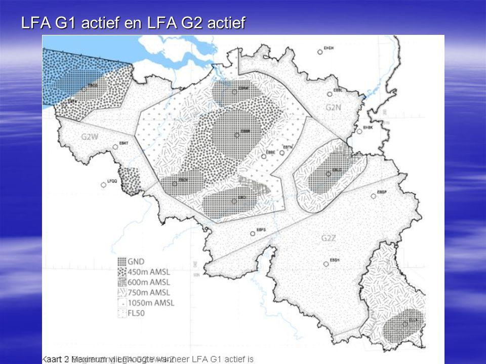  Niet vergeten : Florennes : EBP06A en EBR06B –Uitluisteren op 126.90 –Bij activatie : CTR en TMA zo snel mogelijk verlaten