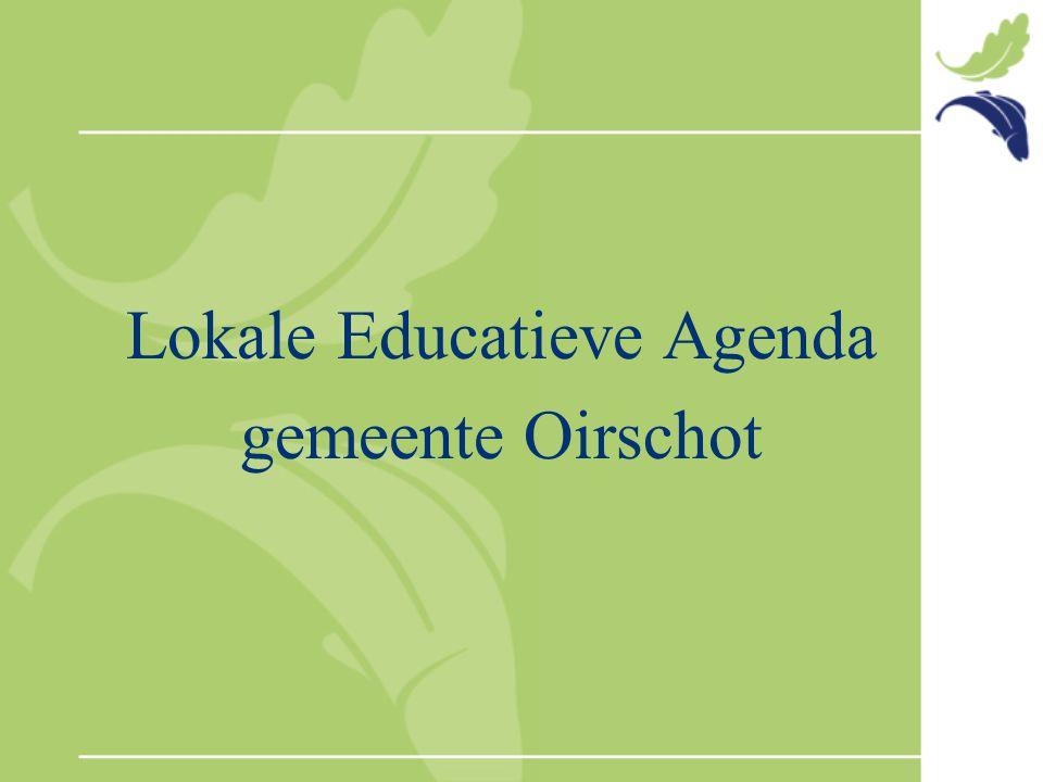 Lokale Educatieve Agenda gemeente Oirschot