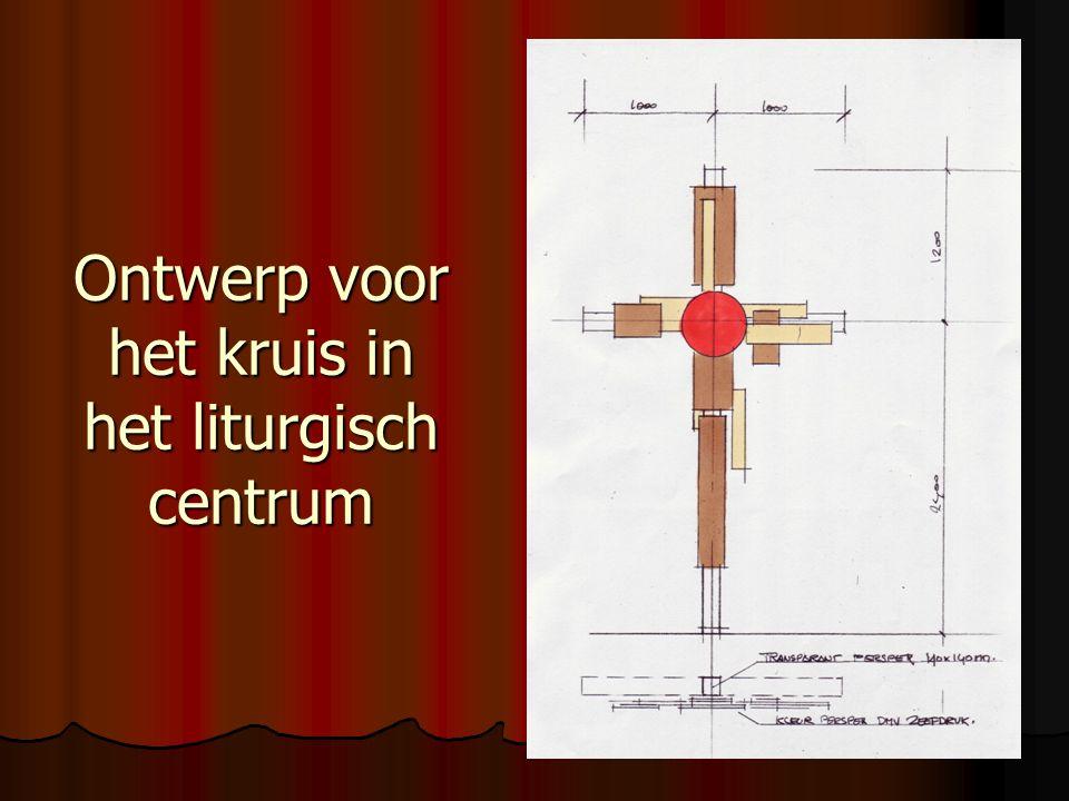 Ontwerp voor het kruis in het liturgisch centrum