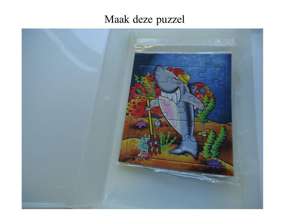Maak deze puzzel