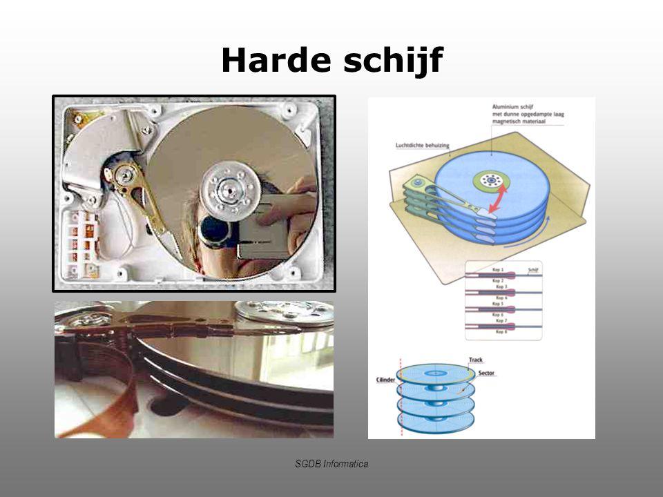 SGDB Informatica Harde schijf