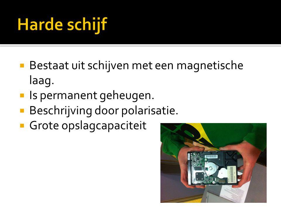  Aansluitmogelijkheden:  IDE  PATA  SATA  SCSI  Serial Attached SCSI