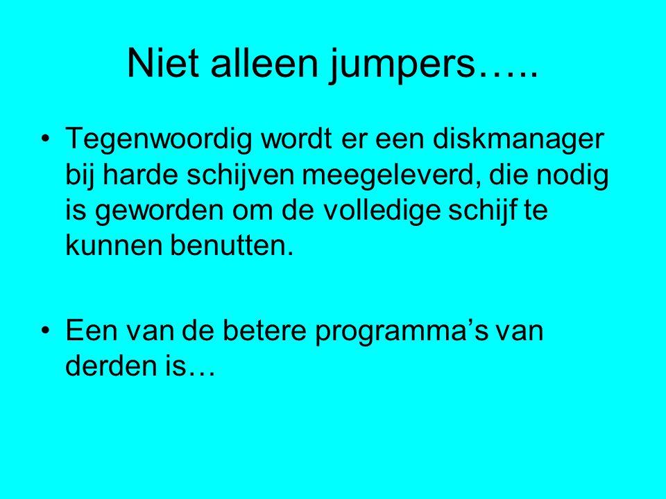 Niet alleen jumpers…..