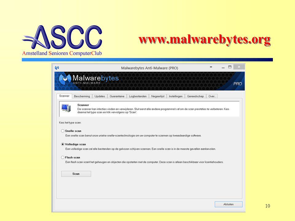 10 www.malwarebytes.org