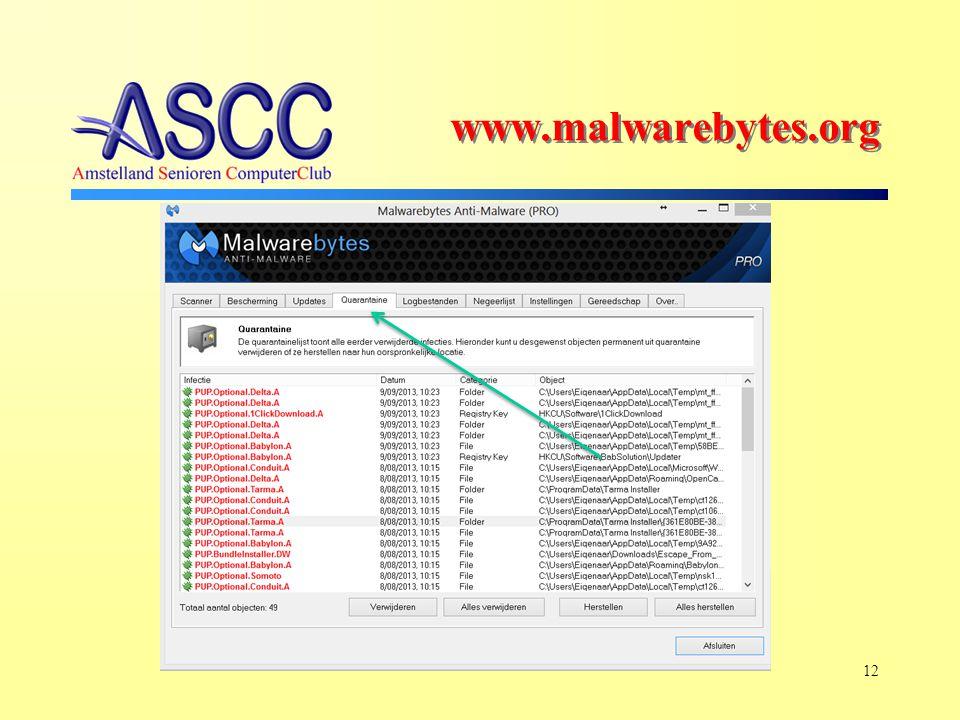 12 www.malwarebytes.org