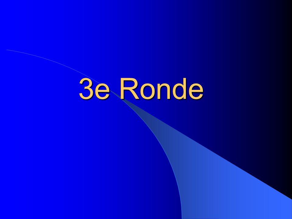 3e Ronde