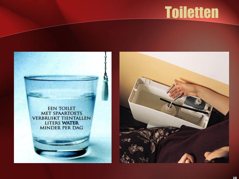 10 Toiletten