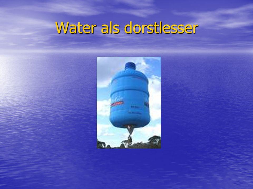 Water als dorstlesser