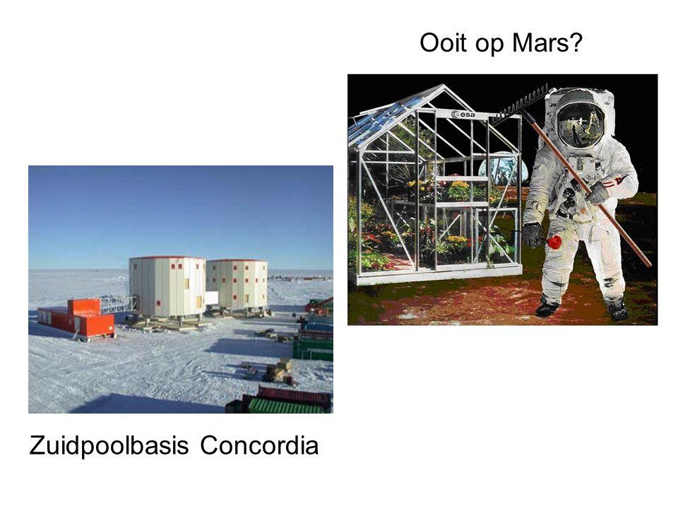 Zuidpoolbasis Concordia Ooit op Mars?