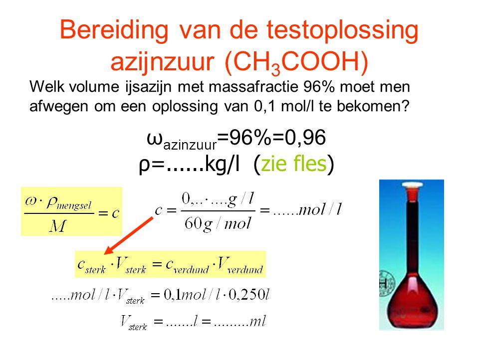 Berekening van enkele Kz en Kb waarden H 2 O + H 2 O  H 3 O + + OH - OH - + H 2 O  H 2 O + OH - H 3 O + + H 2 O  H 2 O + H 3 O + Vergelijk de bekomen resultaten met tabel p.432
