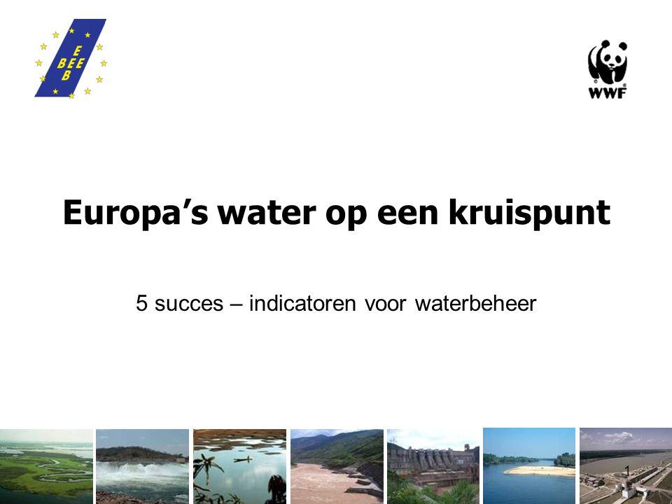 1 Europa's water op een kruispunt 5 succes – indicatoren voor waterbeheer