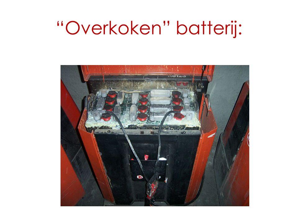 """Overkoken"" batterij:"
