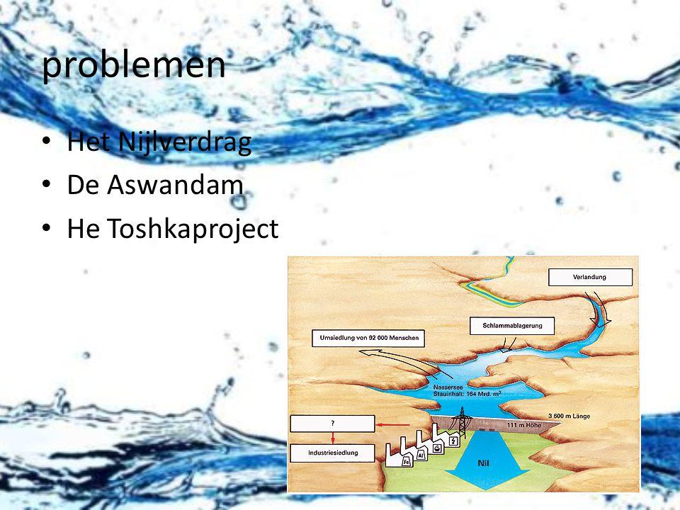 problemen Het Nijlverdrag De Aswandam He Toshkaproject