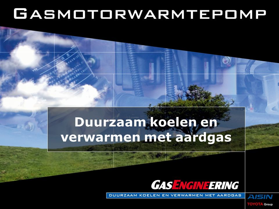 Duurzaam koelen en verwarmen  De vraag naar energie blijft stijgen.