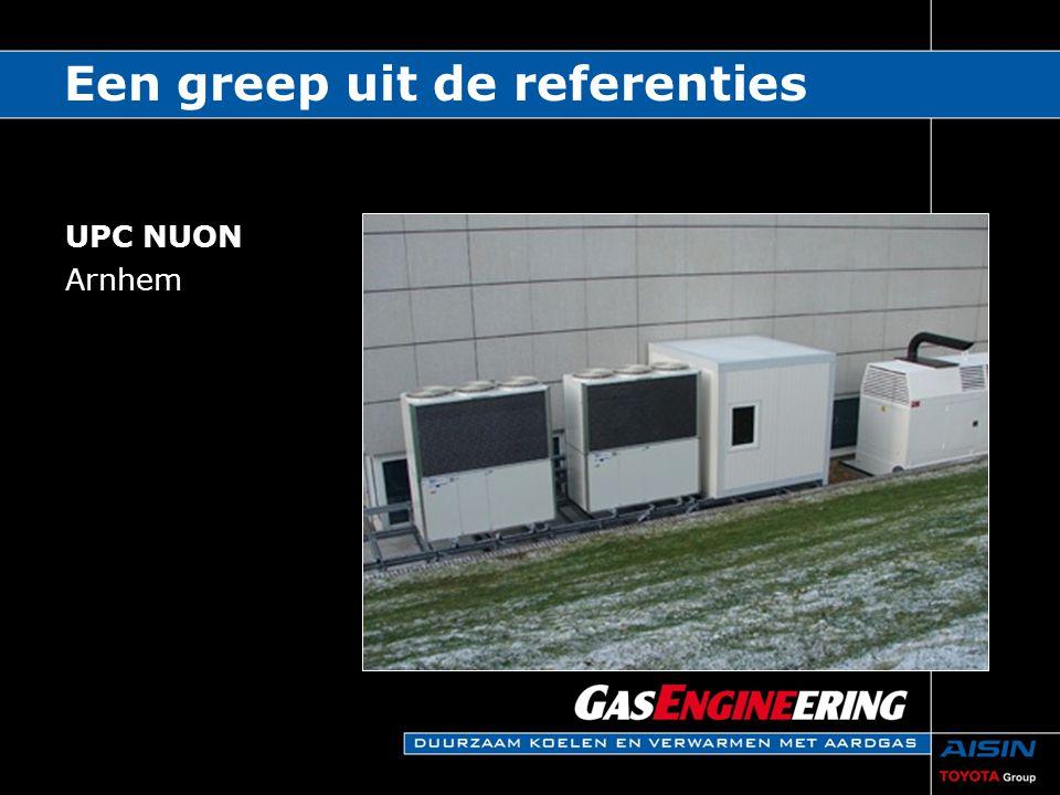 UPC NUON Arnhem Een greep uit de referenties