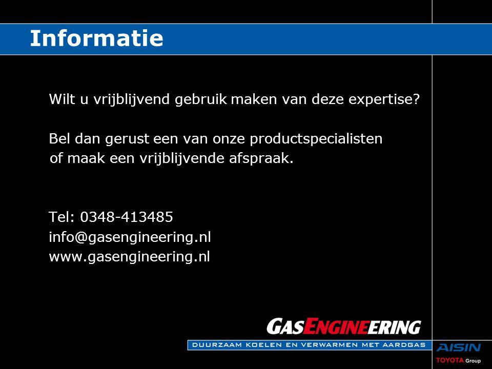 Informatie Wilt u vrijblijvend gebruik maken van deze expertise? Bel dan gerust een van onze productspecialisten of maak een vrijblijvende afspraak. T