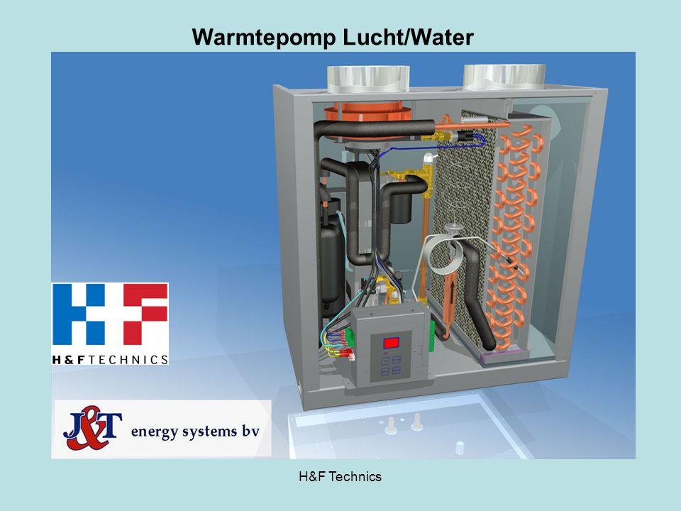 Warmtepomp Lucht/Water H&F Technics