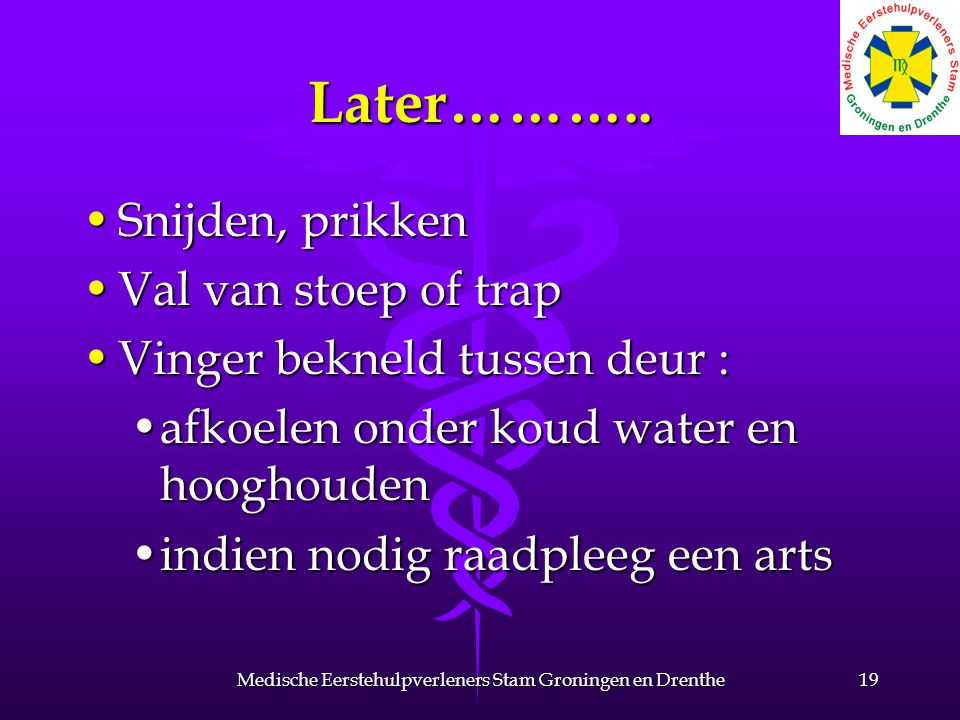 Later………..