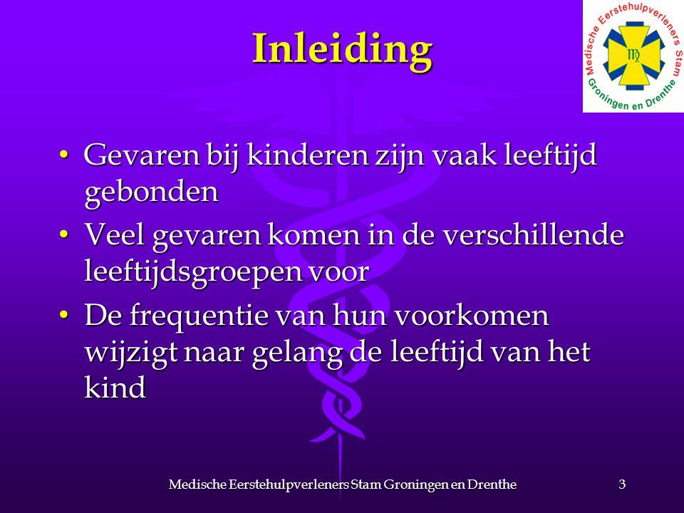 Niet te verwaarlozen 44Medische Eerstehulpverleners Stam Groningen en Drenthe