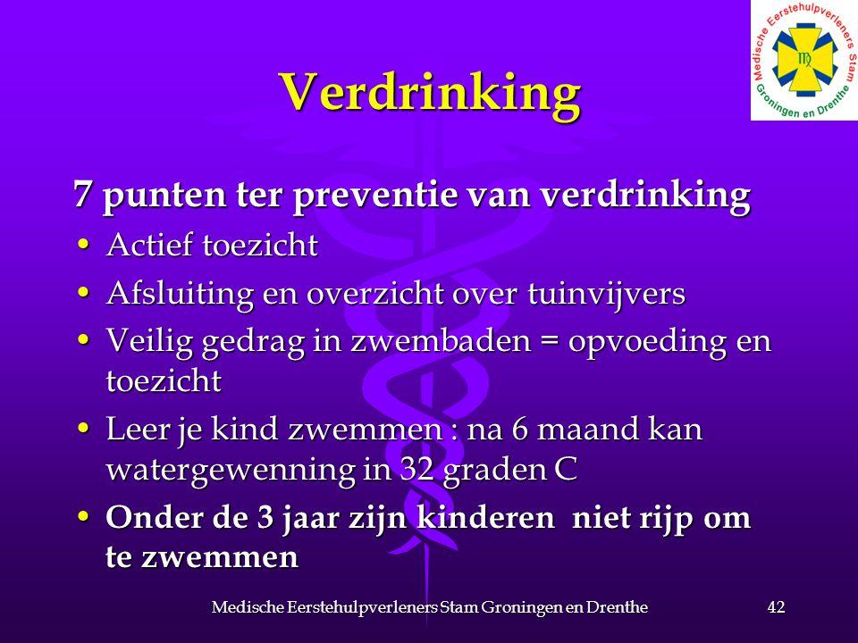 Verdrinking 7 punten ter preventie van verdrinking Actief toezichtActief toezicht Afsluiting en overzicht over tuinvijversAfsluiting en overzicht over