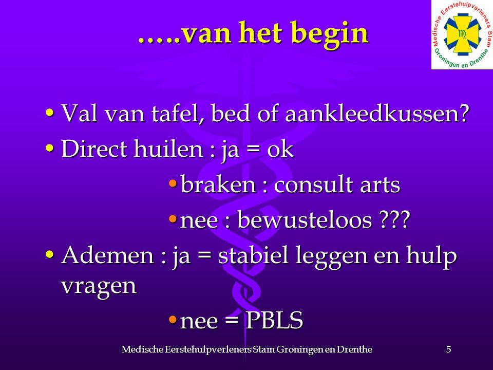 Botsen en stoten 16Medische Eerstehulpverleners Stam Groningen en Drenthe