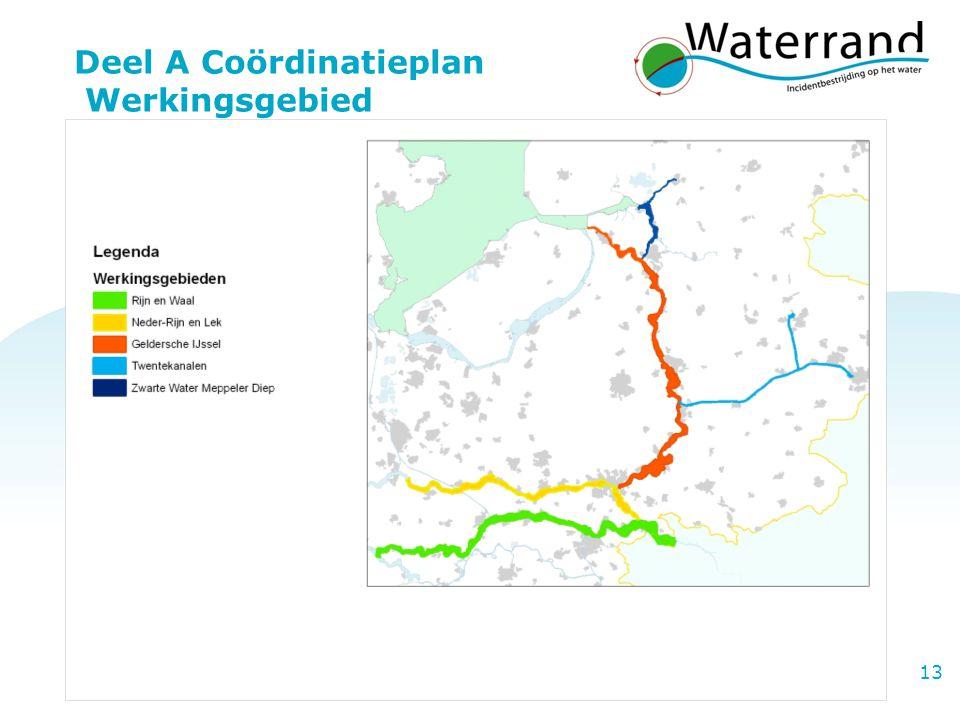 Project Waterrand 13 Deel A Coördinatieplan Werkingsgebied